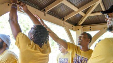 Photo of Ouachita Baptist University's Elrod Center holds Tiger Serve Day