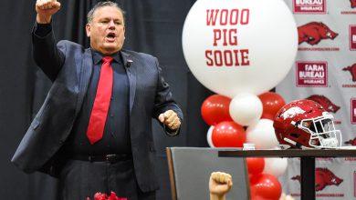 Photo of Pittman Talks Football