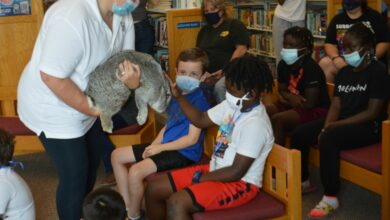 Photo of Prescott/Nevada County Library Delights Children With Animalogy Show