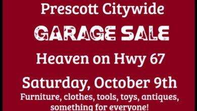 Photo of Heaven on Hwy 67: Prescott Citywide Garage Sale October 9th