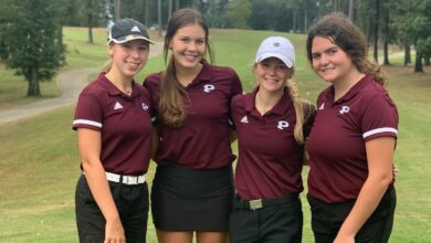 Photo of Prescott Girls Place in State Golf Tourney