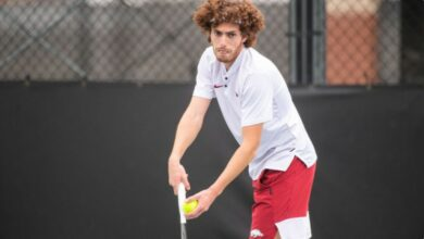 Photo of Hogs Prevail as Doubles Champions in Home ITF Event
