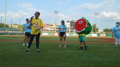 Photo of A Slice Of The Hope Life: Hope Citizens Participate In Arkansas Travelers Baseball Game To Promote Watermelon Festival