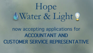 Photo of Hope Water & Light Now Accepting Applications for Accountant and Customer Service Representative