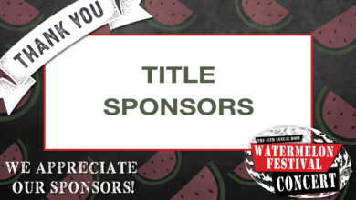 Photo of UAHT Announces Title Sponsors for the 45th Annual Hope Watermelon Festival Concert