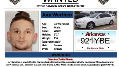 Photo of Worthen Wanted for Murder of Young Woman and Her Son